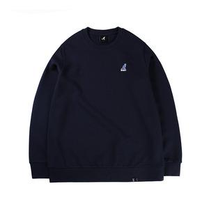 베이직 클럽 티셔츠 1533 네이비