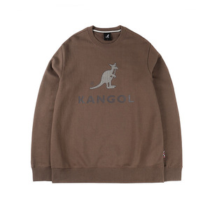 헤링본 로고 티셔츠1540 브라운